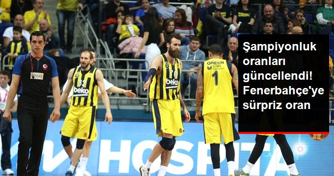 Şampiyonluk oranları güncellendi! Fenerbahçe ye sürpriz oran