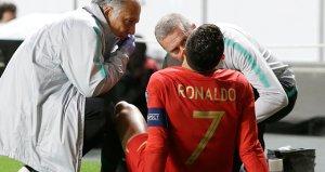 Cristiano Ronaldo maça devam edemedi!