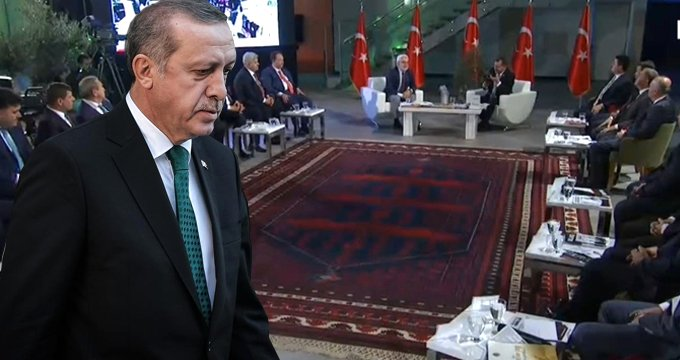 Hiçbiri beklemiyordu! Canlı yayında Erdoğan sürprizi