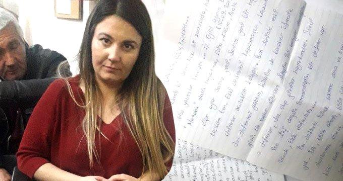 Mahkeme, genç kadının mektuplarını delil olarak saymadı