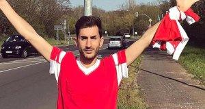 Benfica taraftarı yanlış Frankfurta gidince, sosyal medya yıkıldı