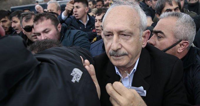 Kemal Kılıçdaroğlu'na saldıranların kimliği belirlendi