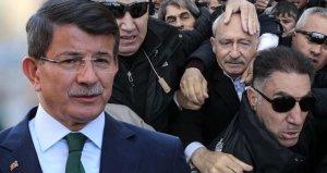 Kılıçdaroğluna yapılan saldırı sonrası Davutoğlundan liderlere çağrı!