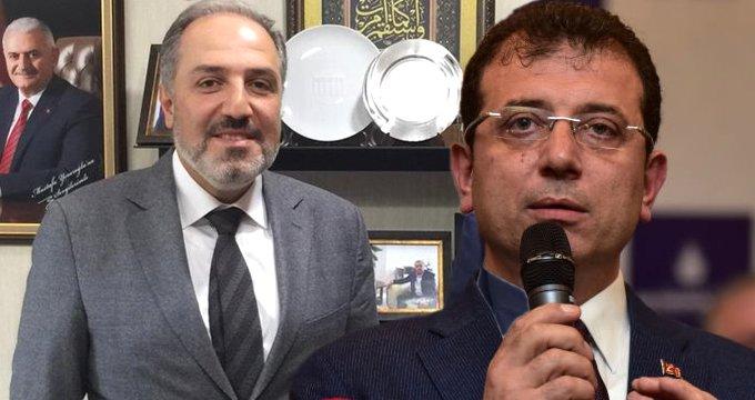 AK Partili vekilden, hükümete yakın gazetenin İmamoğlu manşetine tepki