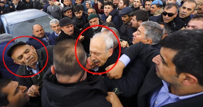 Kılıçdaroğlu'na ilk yumruğu atan saldırgan yakalandı!