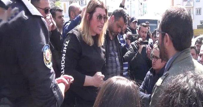 HDP'li vekil ile emniyet amiri karşı karşıya geldi: Kanun ve nizam var