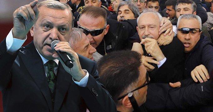 Kılıçdaroğlu'na yapılan saldırıya Erdoğan'dan yorum: Dikkat etmeliyiz!
