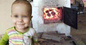 2 yaşındaki torununu sobaya, sebebi dehşete düşürdü