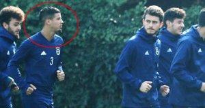 Fenerbahçenin kontratsız oyuncusu idmanda görüntülendi