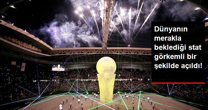 Katar 2022 Dünya Kupası Maçlarının Oynanacağı Vekra Stadyumu Açıldı