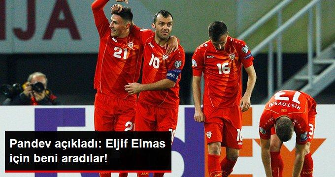Goran Pandev, Eljif Elmas İçin Inter Yetkilileri ile Görüştüğünü Açıkladı