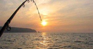 Amatör balıkçının oltasına takılanı görenler şaşırıp kaldı