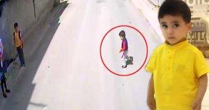 4 yaşındaki Yasin'i hayattan koparan kazanın görüntüleri ortaya çıktı!