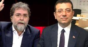 İmamoğlundan Ahmet Hakan hakkında açıklama geldi!