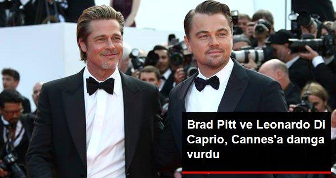 Brad Pitt ve Leonardo Di Caprio, Cannesa damga vurdu