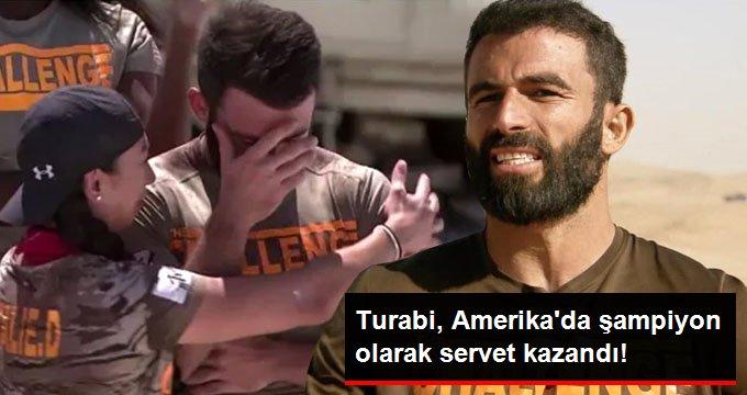 Turabi, Amerikada şampiyon olarak servet kazandı!