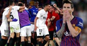 Valencia, Barcelonayı Yenip İspanya Kral Kupasını Kazandı