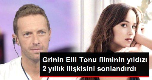 Grinin Elli Tonu filminin yıldızı 2 yıllık ilişkisini sonlandırdı!