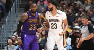 Anthony Davis, Los Angeles Lakersa gidiyor