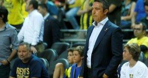Ali Koç, Anadolu Efes maçında takımını yalnız bırakmadı