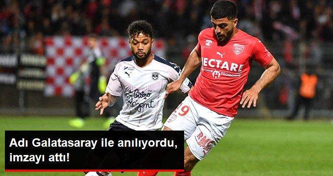 Adı Galatasaray ile anılıyordu, imzayı attı!