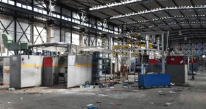 Bir zamanlar Türkiyenin en büyüğü olan Uzel traktör fabrikası yağmalanıyor
