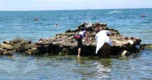 Denizin ortasında ilginç doğa olayı! Gören telefona sarıldı