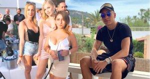 Emre Mor, Ibizada kızlarla sabaha kadar eğlendi