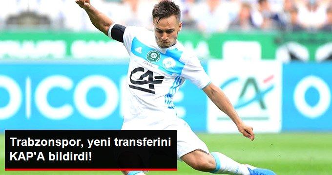 Trabzonspor, yeni transferini KAPA bildirdi!