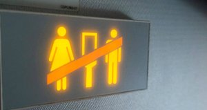 Dublin-İzmir uçağında rezalet! Tuvalette ilişkiye girdiler