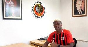 Gençlerbirliği, Sadio Dialloyu renklerine bağladı