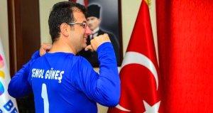 Trabzonspordan Ekrem İmamoğluna tebrik