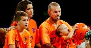 Wesley Sneijder, Türk medyasına çattı: Beyni olmayan insanlar!