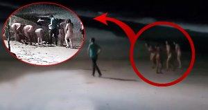 Turizm cennetinde skandal! 5 kadın, 1 erkek çırılçıplak yakalandı