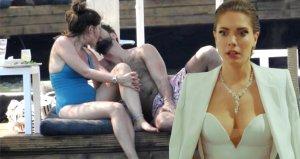 Mayolu görüntülenen oyuncu Eda Ece, kilolu çıktığını söyleyerek isyan etti