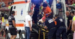 Dinamo Bükreşin hocası Eugen Neagoe maç sırasında kalp krizi geçirdi!