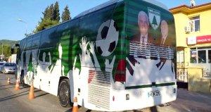 Muğlaspora tahsis edilen otobüste yer alan kaplama istifa getirdi