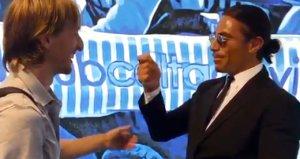 Nusretin Modric ile çektiği videoya tepki: Sadece ağzını oynatıyorsun