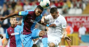 Trabzonspor deplasmanda Kasımpaşa ile berabere kaldı