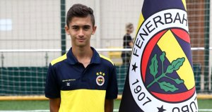 14 yaşında Somadan Fenerbahçeye transfer oldu