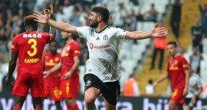 Beşiktaşın ilk golü Güven Yalçından geldi