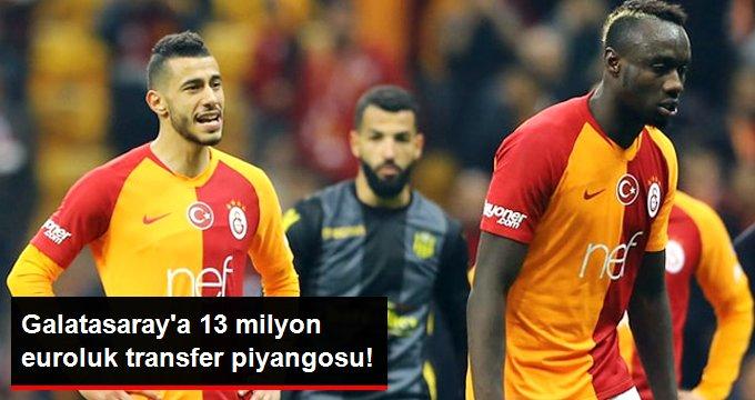 Galatasaray a 13 milyon euroluk transfer piyangosu!