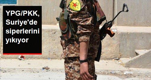 ABD Merkez Kuvvetler Komutanlığı: YPG/PKK, Suriye'de siperlerini yıkıyor