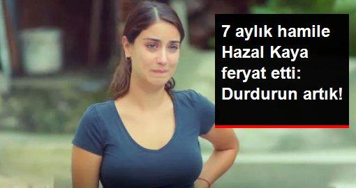 Hazal Kaya, Emine Bulut'un ölümünden sonra isyan etti: Küçük kızın gözyaşlarında boğulun