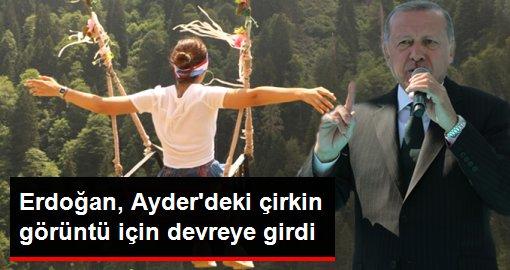Erdoğan, Ayder'deki salıncaklar için devreye girdi: Bunları temizleyeceğiz