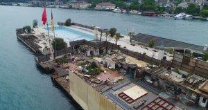 Dursun Özbekin haciz işlemi başlattığı Galatasaray Adası kaderine terkedildi