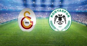 Galatasaray, Konyasporu konuk ediyor! Canlı anlatım