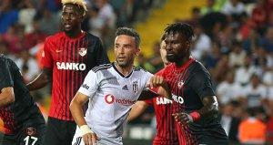 Beşiktaş, Gazişehir Gaziantepe 3-2 mağlup oldu