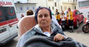 Usta oyuncu Fatma Girik Ankarada hastaneye yatırıldı