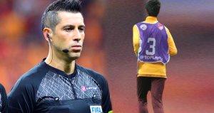 Ali Palabıyık, Galatasaray maçında top toplayıcı çocuğu tribüne gönderdi